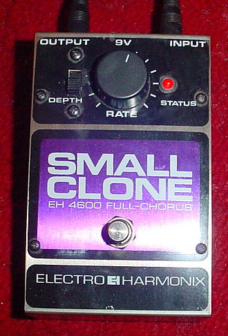 Electro-Harmonix - Small Clone chorus pedal