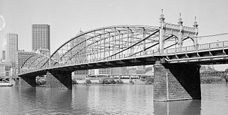 Gustav Lindenthal - Smithfield Street Bridge
