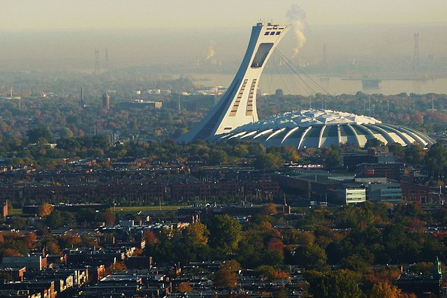 Olympic Stadium in Montreal, Canada. Photo by DubyDub2009.