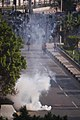 Smoke on a street in Cairo during the 2011 Egyptian Revolution.jpg