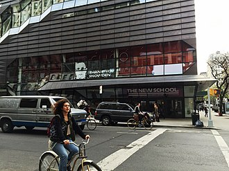 The New School - Image: Snowden Poster at New School