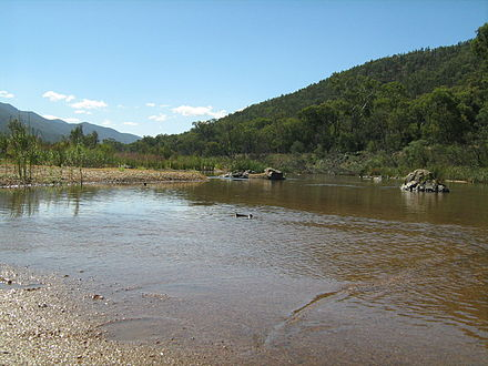 The Snowy River near Suggan Buggan, in Victoria, 2008. Snowy River near Suggan Buggan.JPG