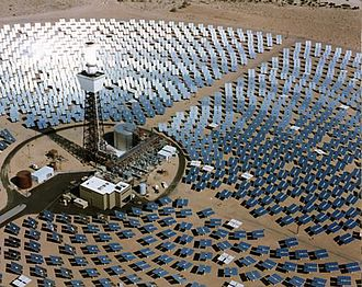 Alternative energy - Image: Solar One Power Plant 1993 California