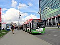 Solaris Trollino 18AC 3938, trolleybus line 161, Lublin, 2017.jpg