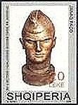 Soldier by Janaq Paço 2004 stamp of Albania.jpg