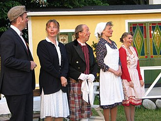Folkets Park in Kävlinge - Amateurtheater in Kävlinge Folkets Park 2005