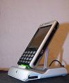 Sony Ericsson P1 with dock.jpg
