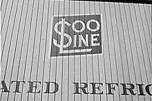 closeup photo of the side of a railroad car that says Soo Line and refrigerated