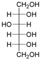 Sorbitol Fischer projection.png