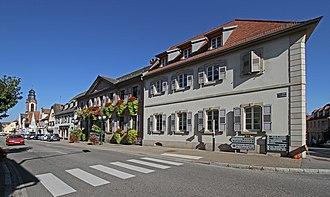 Soultz-sous-Forêts - Image: Soultz sous Forets Rue des Barons de Fleckenstein 02 gje