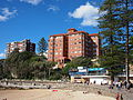 South end of Manly Beach in July 2013.jpg