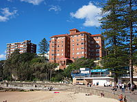 The southern end of Manly Beach
