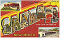 Souvenir of Santa Fe, the city different, New Mexico.jpg