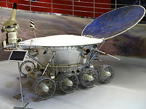 Lunokhod 1 - Model of a Soviet Lunokhod program rover