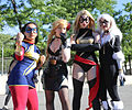Special Edition NYC 2015 - Ms. Marvels, Black Canary & Black Cat (18357883500).jpg
