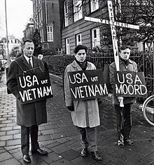 Why did external factors contribute to the USA losing the war in vietnam?