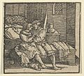 Spinneloccio Locked up in a Chest, on which his Wife and Zeppa are Seated, from The Decameron MET DP849313.jpg