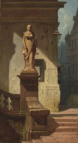 Spitzweg-justitia