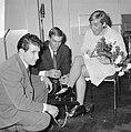 Sportman van het jaar, Kees Verkerk en Ard Schenk, Betty Heukels bij dames tweed, Bestanddeelnr 919-9370.jpg