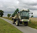 Sprayer on Middlegate near Saxby All Saints - geograph.org.uk - 2002592.jpg