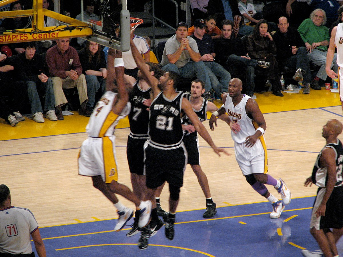 Lakers–Spurs rivalry - Wikipedia