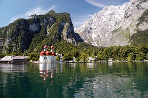 The Amazing Race 14 - While in Germany, teams visited the lake town of Schönau am Königsee deep in the Bavarian Alps.