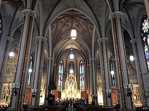 St. Francis de Sales Oratory (St. Louis) - Interior