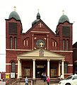 St. John the Baptist Ukrainian Catholic Church, South Side, Pittsburgh, exterior.jpg