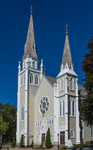 St. Joseph's Church Complex (Cumberland, Rhode Island) - Image: St. Joseph's Church, Cumberland RI