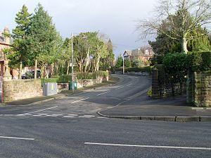 Newlands, Glasgow - Image: St Bride's Road geograph.org.uk 1178250