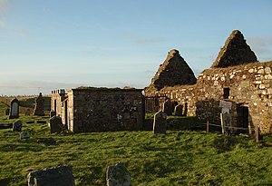 Aignish - Image: St Columbas Church, Aiginis, Isle of Lewis