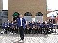St Eugene's Band, Market Street, Omagh (5) - geograph.org.uk - 1452817.jpg
