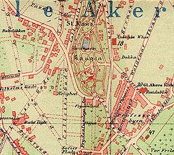 st hanshaugen kart St. Hanshaugen   Wikipedia st hanshaugen kart