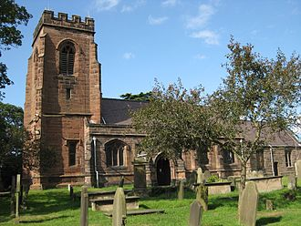 St James' Church, Ince - Image: St James the Great Ince 2014