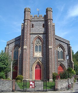Church of St John sub Castro, Lewes Church in East Sussex , England