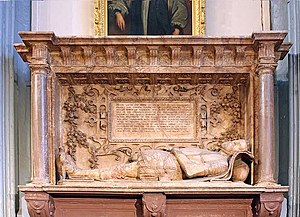 St Katharine Cree - Sir Nicholas Throckmorton's monument
