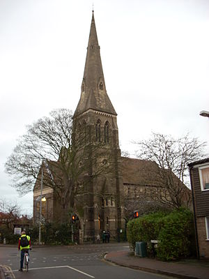 Victoria Road, Cambridge - St Luke's Church, on Victoria Road.