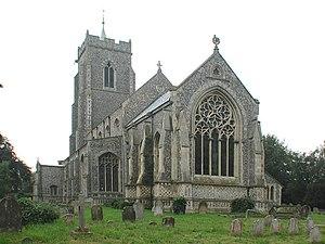 Martham - Image: St Mary, Martham, Norfolk geograph.org.uk 312326