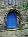 St Michael's Church, Croston, Doorway - geograph.org.uk - 940471.jpg