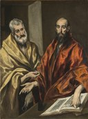 St Peter and St Paul (El Greco) - Nationalmuseum - 20131.tif