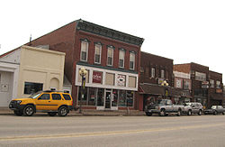 Downtown St. Ansgar, Iowa