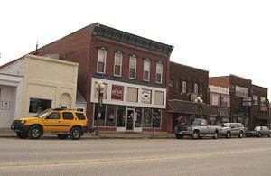 St. Ansgar, Iowa - Downtown St. Ansgar, Iowa