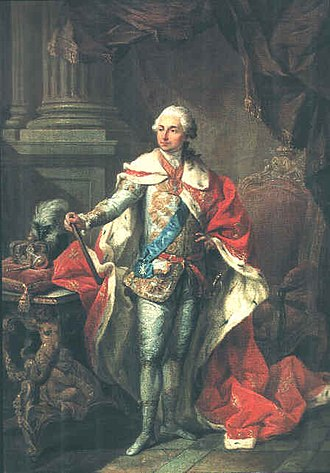 Poniatowski - King Stanisław II August.