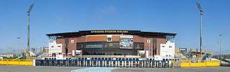 2017 UEFA European Under-21 Championship - Image: Stadion Zawisza Bydgoszcz front panorama