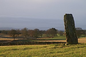 Airlie, Angus - Standing Stone by Baitland of Airlie