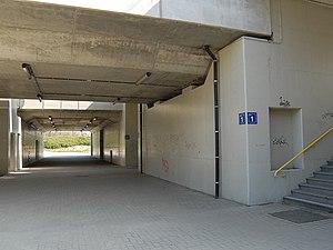 Antwerpen-Luchtbal railway station - Image: Station Antwerpen Luchtbal