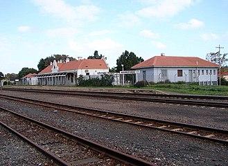Moorreesburg - Moorreesburg railway station