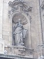 Statue of Architecture (1902), Royal Palace 2016 Budapest.jpg