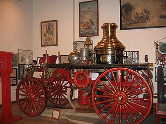 Birdsill Holly - Silsby steam fire engine
