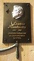 Stefan Makedonski memorial plaque, Sliven.jpg